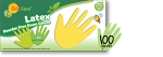 Latex Powder Free Exam Gloves 100/box 10 box/case