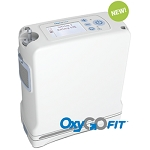 OxyGo FIT Ultra-Lightweight Portable Oxygen Concentrator