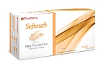 Softouch Vinyl Powder Free Exam Gloves Case of 1000